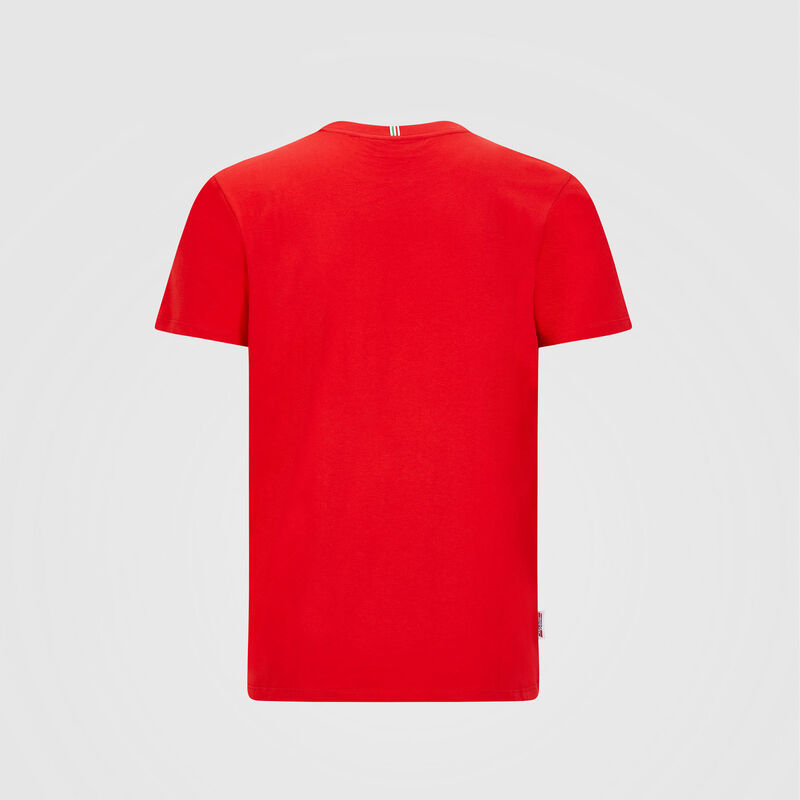 SF FW LARGE SHIELD TEE - red