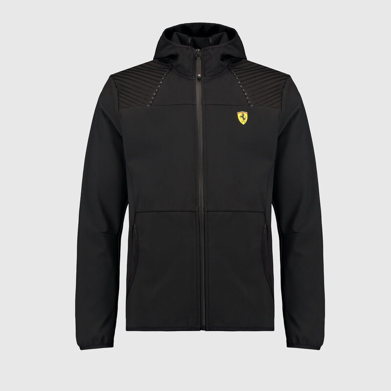 SF FW MENS SOFTSHELL - black