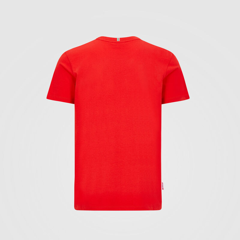 SF FW MENS VETTEL DRIVER TEE - red