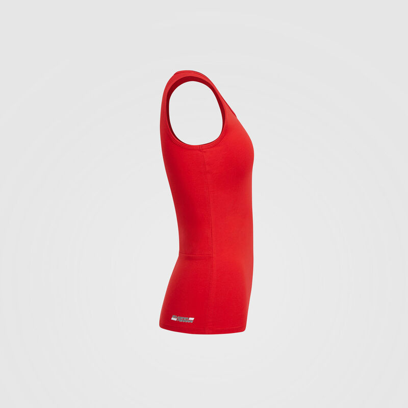 SF FW WOMENS RACER BACK VEST - red