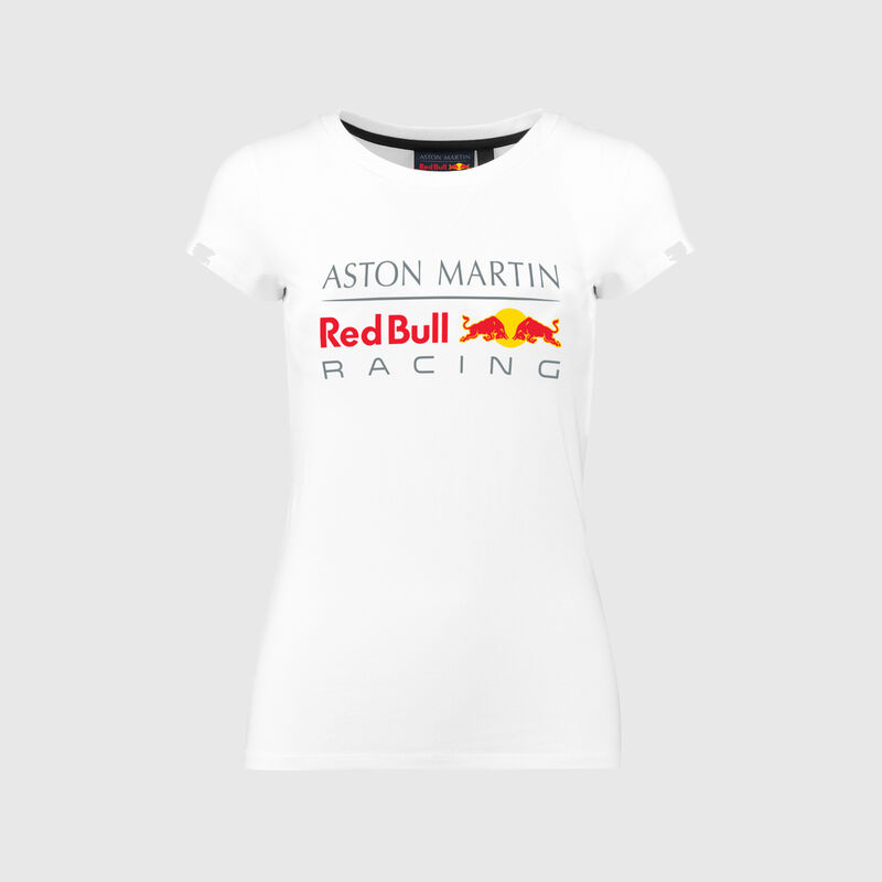 RBR FW WOMENS LARGE LOGO TEE  - white