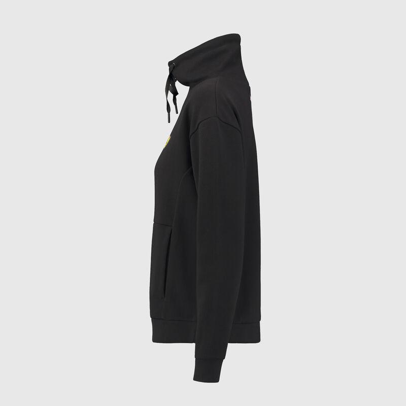 SF FW WOMENS FUNNEL NECK SWEAT SHIRT - black