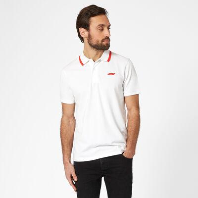 Small Logo Pique Polo Shirt