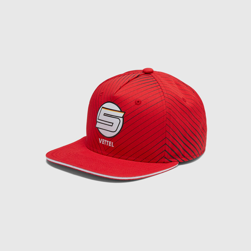 SF FW VETTEL FLAT BRIM CAP - Multicolor