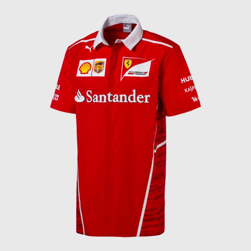 2017 Team Shirt Scuderia Ferrari Formula 1 Fuel For Fans