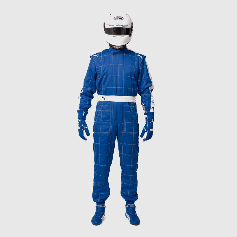 PU RW UNISEX FIA T7 RACESUIT - blue