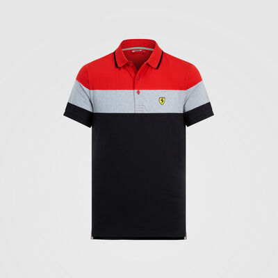 Polo color block