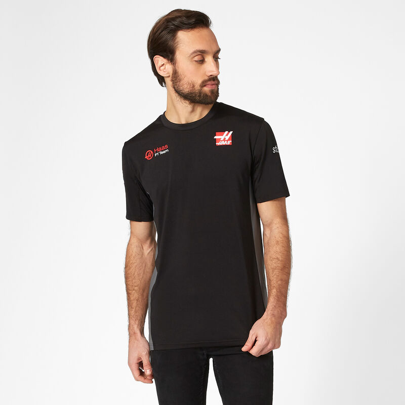 HAAS F1 RP MENS TEAM TEE - black