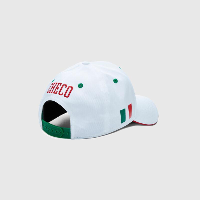 SFI FW CHECO DRIVER CAP - white