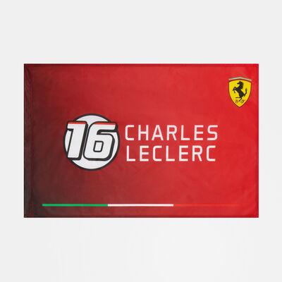 Charles Leclerc 16 Flag