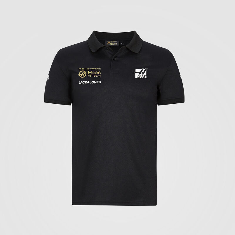 REH F1 RP MENS TEAM POLO - black