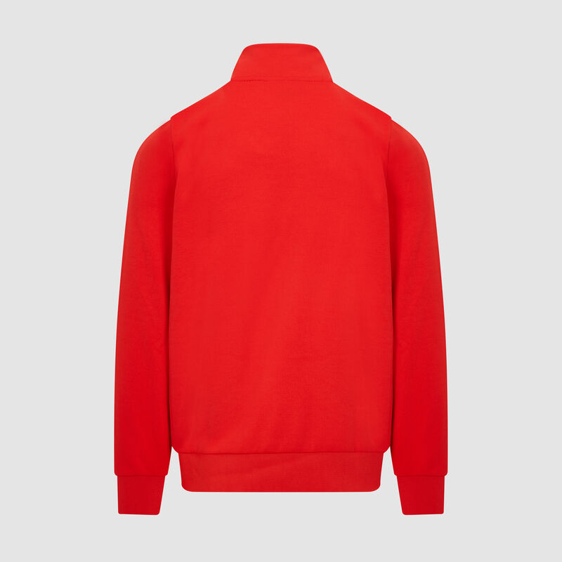 SF PU FW MENS TRACK JACKET - red