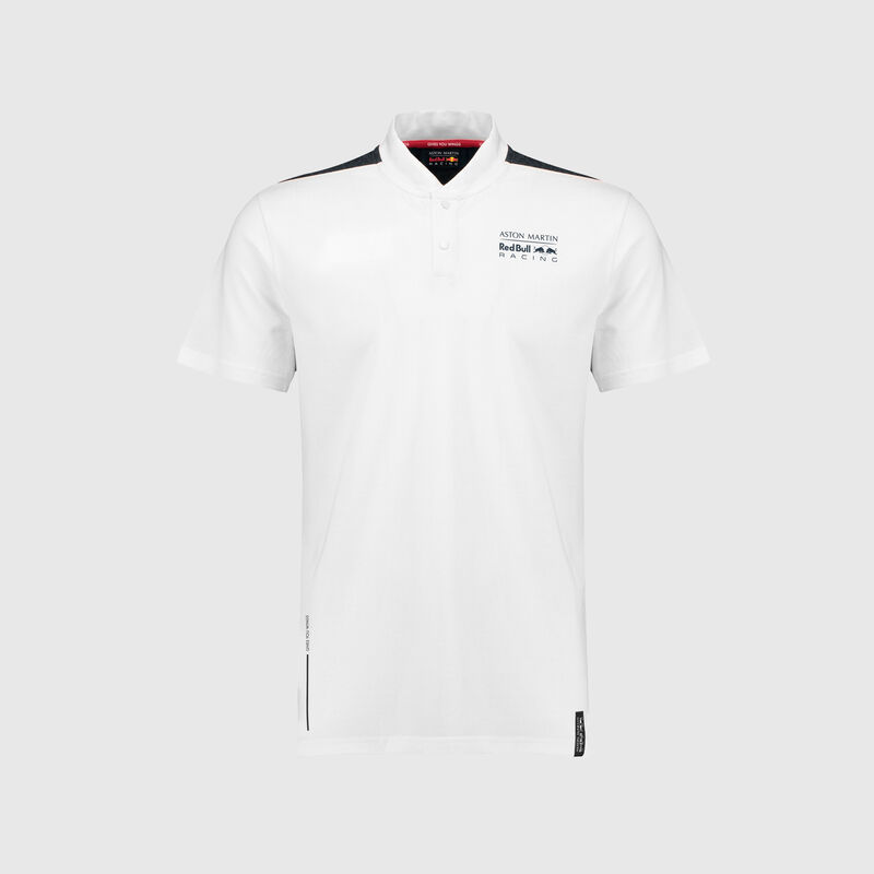 RBR FW MENS SEASONAL POLO - white