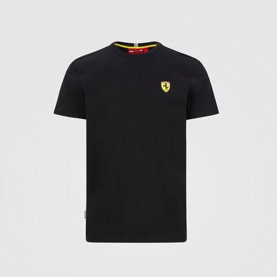 T-Shirt mit kleinem Schild