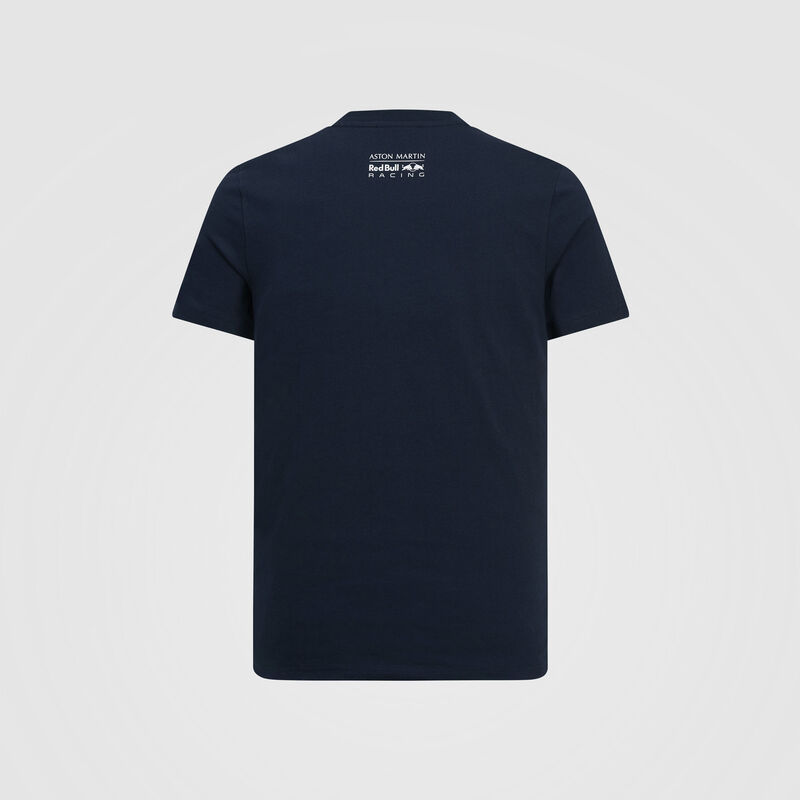 AMRBR FW MENS ACCELERATE GRAPHIC TEE   - navy