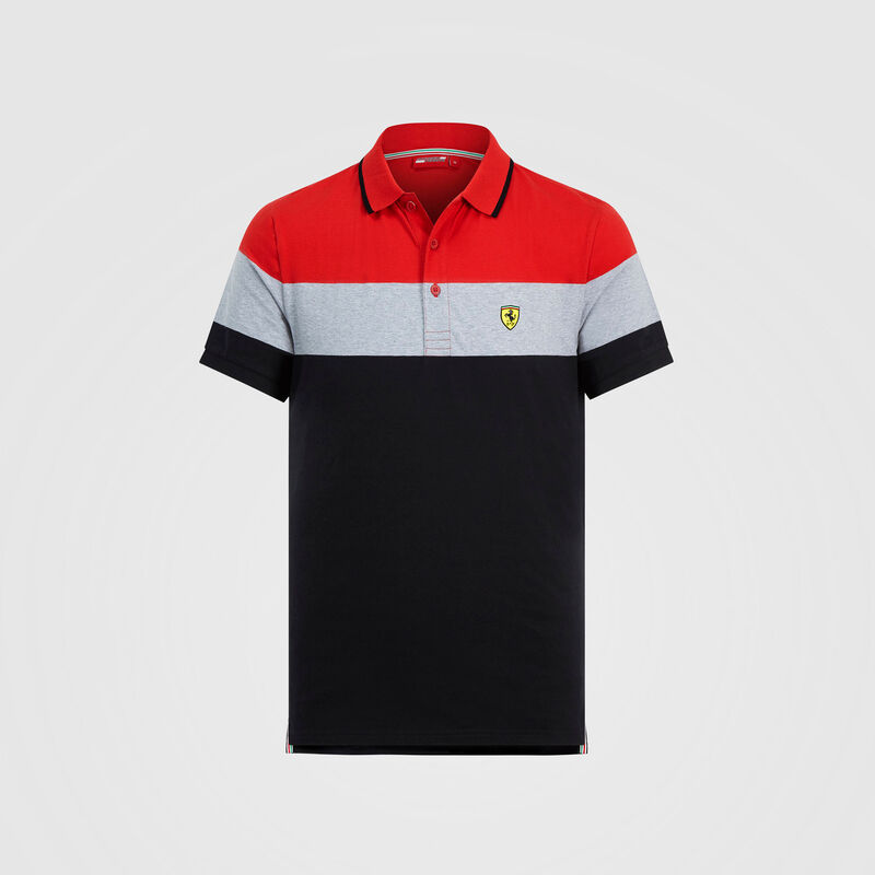 SF FW MENS BLOCK POLO - Multicolor