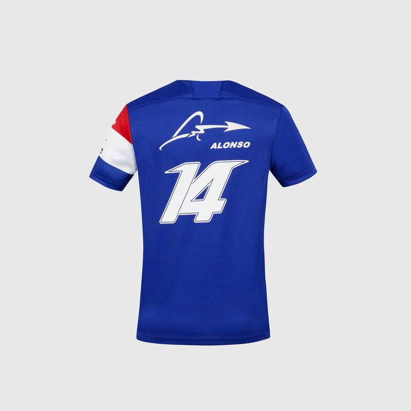 ALPINE F1 PILOT JERSEY ALONSO 14 - blue