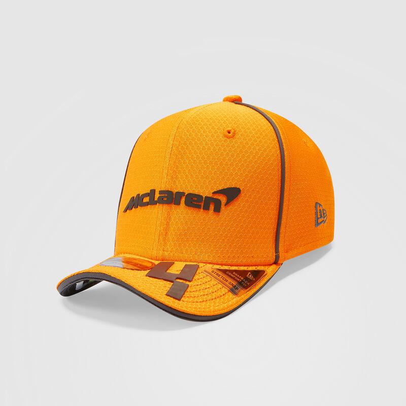 MCLAREN REPLICA DRIVER NORRIS HEX ERA 950SS CAP - orange