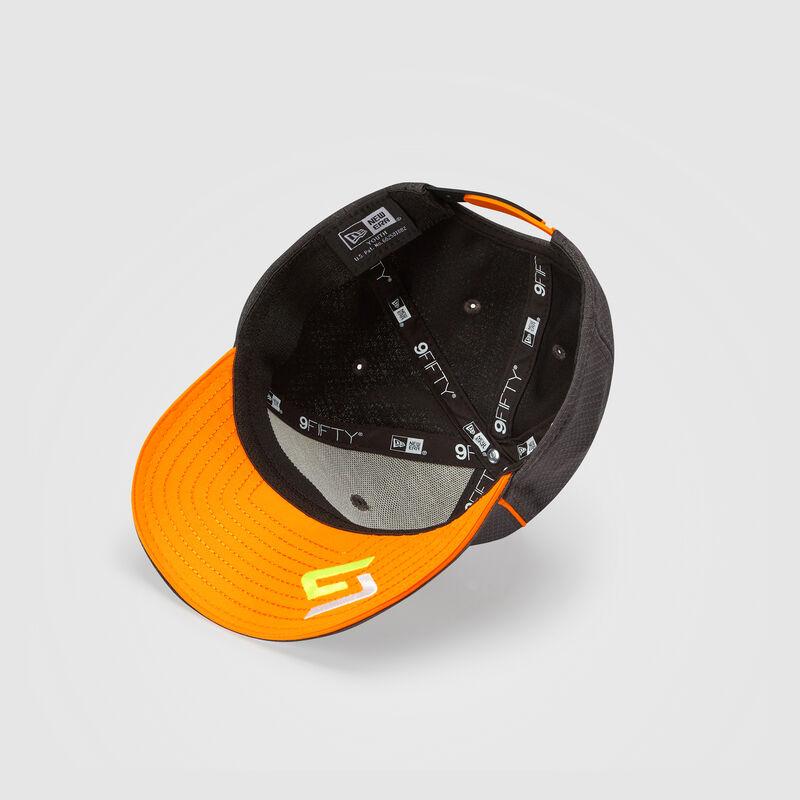MCLAREN REPLICA DRIVER NORRIS HEX ERA 950SS CAP - Antracit