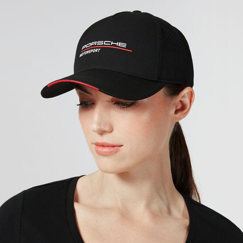 PORSCHE FW CAP - black