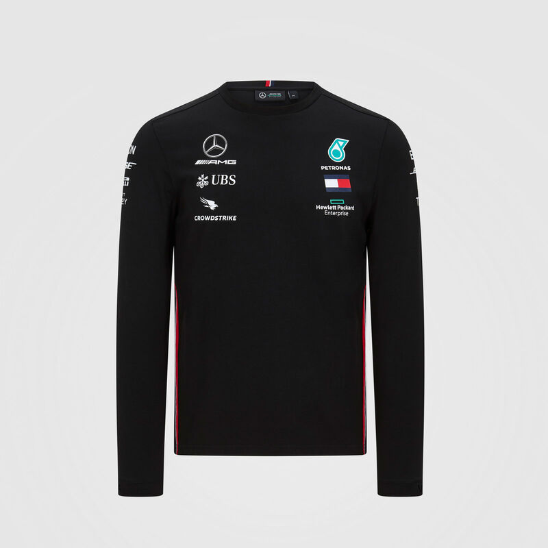 MAPM RP MENS LS DRIVER TEE  - black