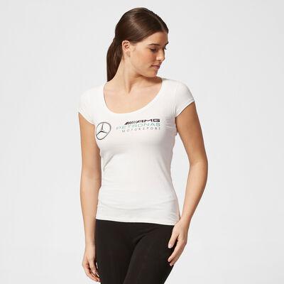 T-shirt avec grand logo pour femme