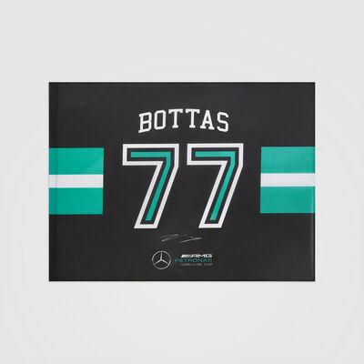Valtteri Bottas #77 Flagge