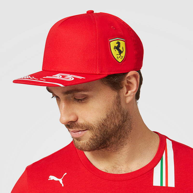SF RP SAINZ CAP - red