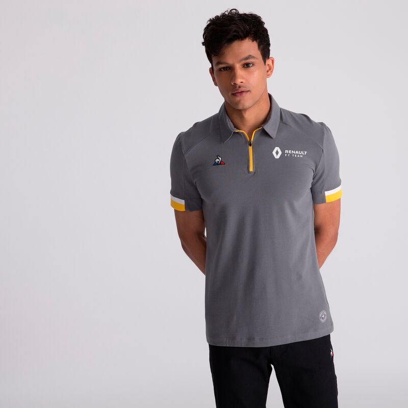 RENAULT RP MENS Nø1 TECH POLO - grey