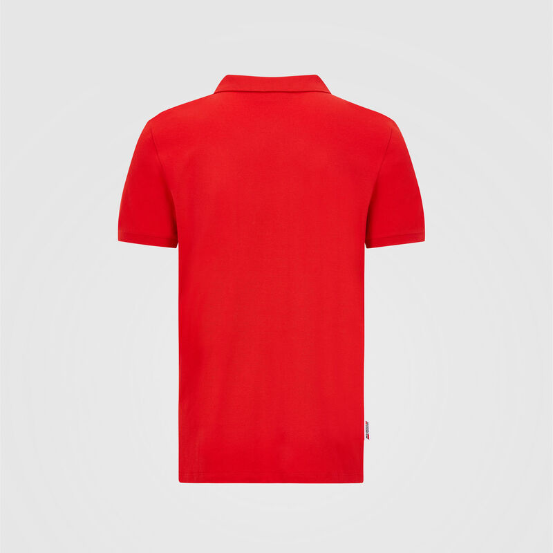 SF FW MENS CLASSIC POLO - red