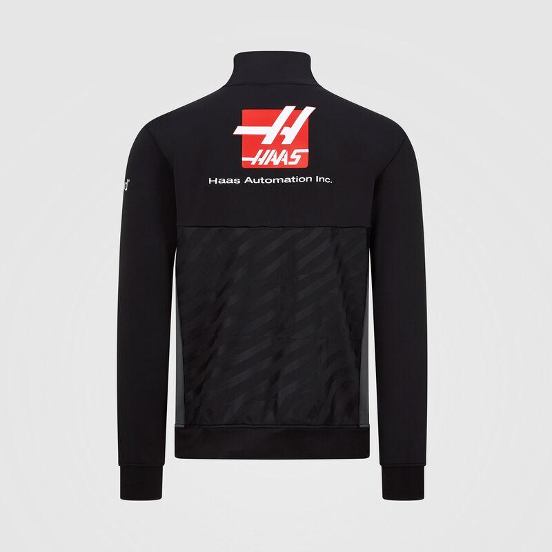 HAAS F1 RP MENS (HALF) ZIP SWEAT - black