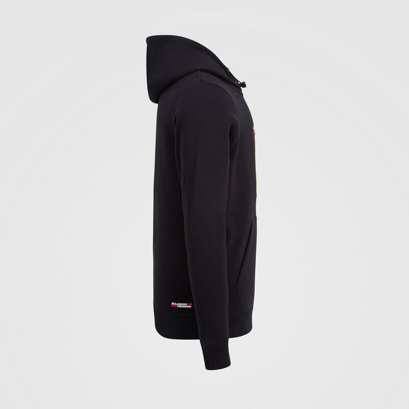 SF FW MENS HOODED SWEAT - black