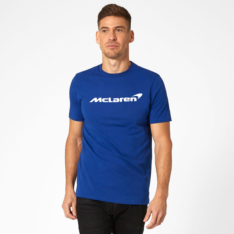 MCLAREN FW MENS ESSENTIALS TEE - blue